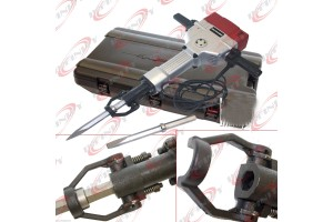HD 2100W 110v Electric Demolition Jack Hammer Concrete Breaker W/ 2Chisels Bits