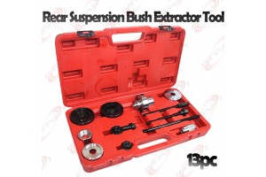 13pc Rear Suspension Bush Extractor Tool Set Replac Axle Mounting Bushes Audi VW