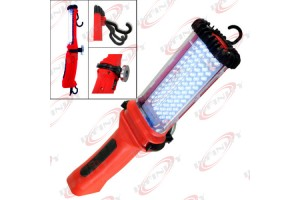 Cordless 84 White LED Worklight Rechargeable Bright Magnetic Holder Work Light