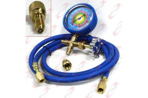 Combo R410a R22 Single Manifold Gauge Kit Testing Charging Air Condition & Hose