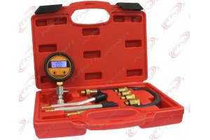 DIGITAL LCD GAUGE ENGINE COMPRESSION CHECK TESTER 4 AUTO PETROL GAS CYCLINDER