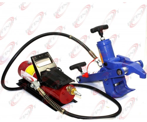 Hydraulic Bead Breaker Changer 4 Tractor Truck Tire W/Hydraulic Foot Pump & Hose