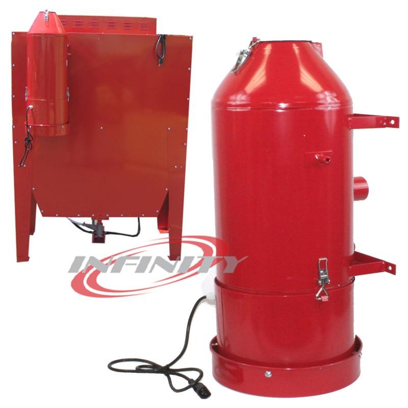 Blast Dust Collector & Vacuum For Industrial Cabinet Sandblaster 110V