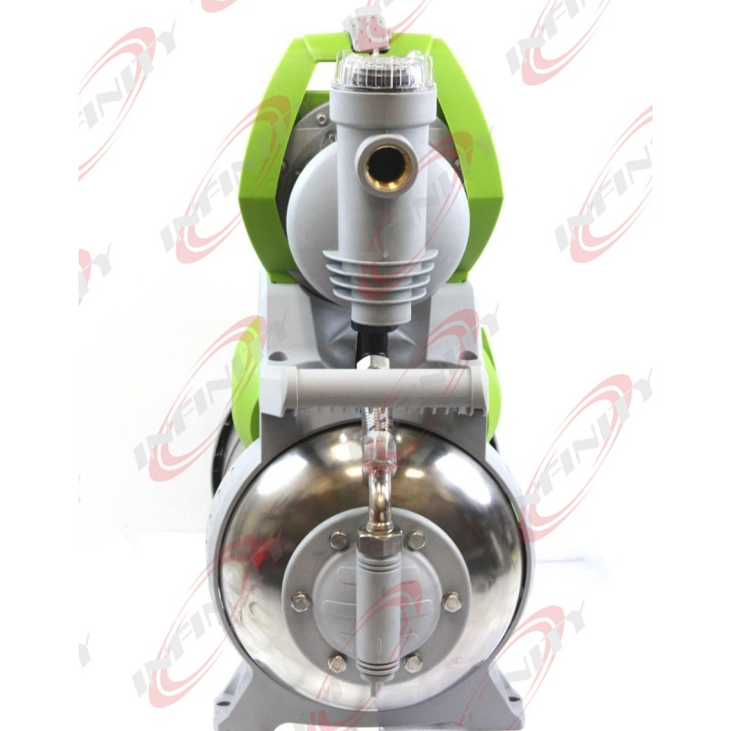 1hp Shallow Jet Booster Water Pump W Stainless Pressure