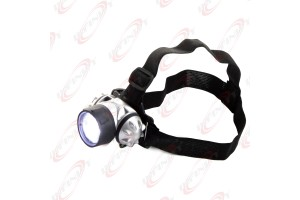 7 LED Adjustable Head-Lamp Headlamp Light Lamp Ultra Bright LED Water Resistant