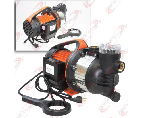 1.5 HP ELECTRIC GARDEN SPRINKLER JET BOOSTER WATER PUMP SELF PRIMING 1210GPH