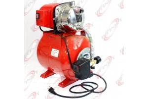 1.6 HP 1200W SHALLOW WELL GARDEN PUMP 1000GPH W/BOOSTER SYSTEM & PRESSURE TANK