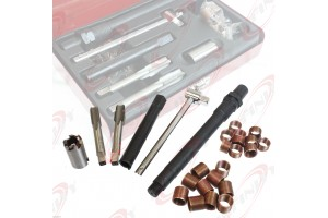 New 26pc Spark Plug M14 x 1.25 Tap Thread Repair Kit With Case