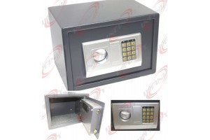 MID SIZE ELECTRONIC DIGITAL COMBINATION KEY SAFE BOX HOME JEWELRY GUN SECURE BOX