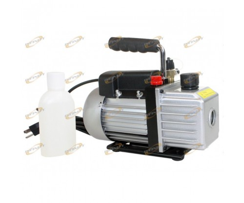 2.5CFM AC A/C ELECTRIC ROTARY VANE DEEP Air Vacuum Pump For R134A & R12/R22 NEW