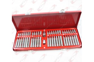 New 54pc Tamper proof Star Hex Spline/Drive/Socket Star Bit/Auto Repair Tool