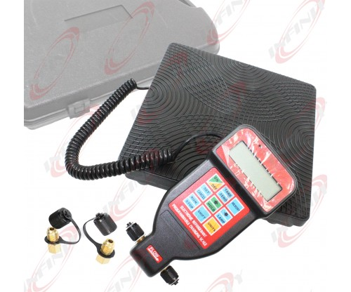 Programmable Refilling Charging AC Refrigerant Digital Scale