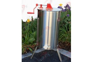2 FRAME HONEY EXTRACTOR BEEKEEPING TANK 201 STAINLESS STEEL W/LEGS & HONEY GATE