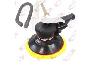 "New 6"" Inch Air Random Orbital Palm Sander Sanding Self Vacuum Automotive Tool"