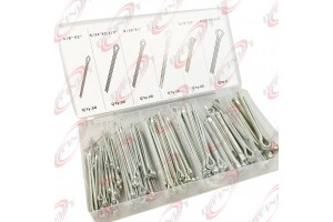 144Pc Cotter Pins Extra Large Pin Assortment Cotter Keys Set Large Assorted