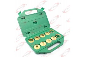 10PC BRASS ROUTER TEMPLATE BUSHING GUIDE KIT SET FIT PORTER CABLE DEWALT SKIL ..