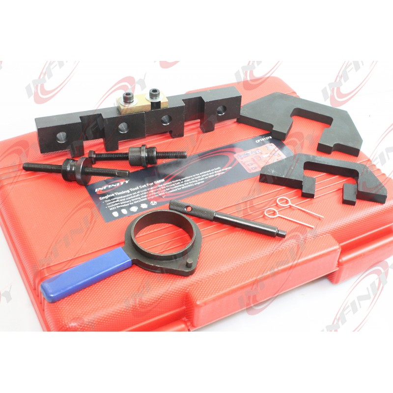 Engine Timing Tool Kit Set Cam Lock Flywheel For BMW M40