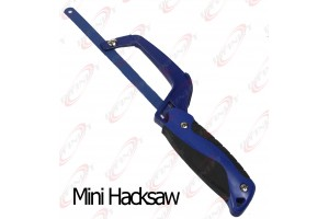 Mini Hacksaw All Metal Construction For Hard to Reach Places w/ #60 Blade