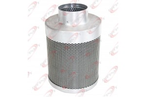 "4""X10"" Hydroponic Inline Exhaust Air Carbon Virgin Charcoal Filter Scrubber"