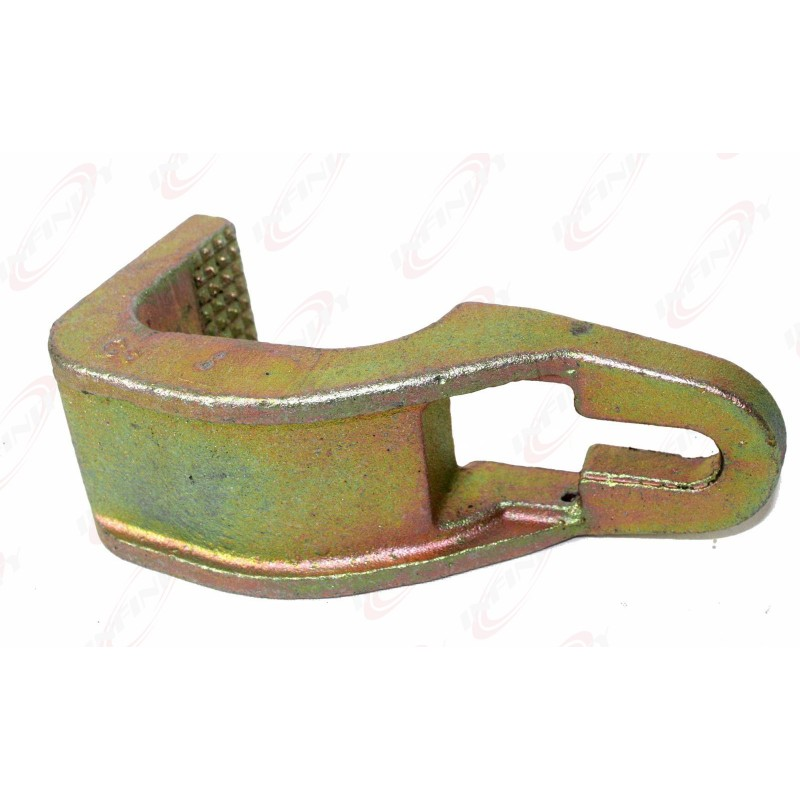 """3 Ton Sill Hook Straight Cut Tooth 2-1//2/"""" Pull Round Hook Clamp Grip Pull Power"""