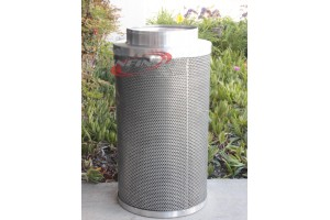 "8"" x39""740CFM Hydroponics Air Carbon Filter Odor Control Scrubber for Inline Exhaust"