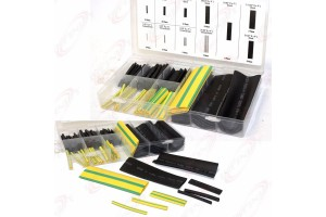 166 pc Heat Shrink Wire Wrap Assortment Set Tubing Electrical Connection Cable
