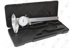 "6""DIAL CALIPER STAINLESS STEEL SHOCKPROOF GAUGE"