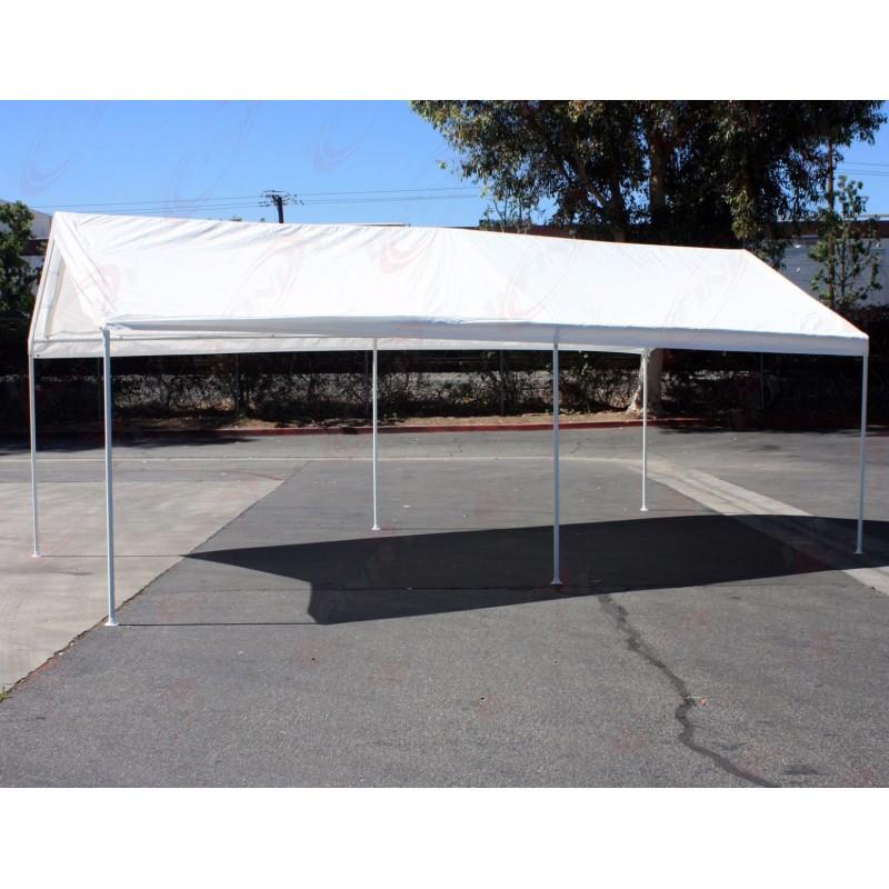 10x20 Car Boat Carport Canopy Shelter Garage Storage Tent Party Shade EZ Setup