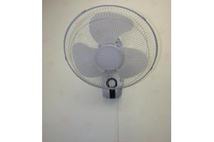 "New Classic 16-Inch Plastic Wall Mount Oscillating Fan 16"""