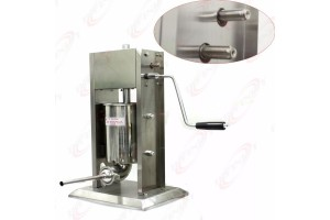 2 Speed Commercial 5L Restaurant Vertical Stainless Steel Sausage Stuffer