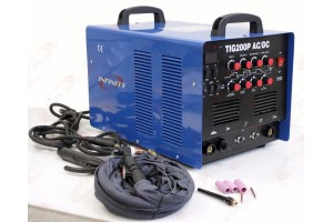 TIG200P 200A TIG MMA PULSE DC INVERTER WELDING MACHINE STAINLESS ALUMINUM WELDER