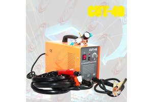 40Amp 220V DC Inverter Plasma Cutter Welder Welding Machine w/Regulator Gauge