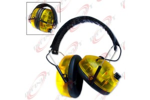 Ear Muff Style Protectors Electronic Safety Adjustable Sound Hearing Protection