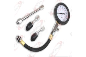 Tune Up Auto Quick Cylinder Compression Pressure Check Meter 300PSI Gauge Tester