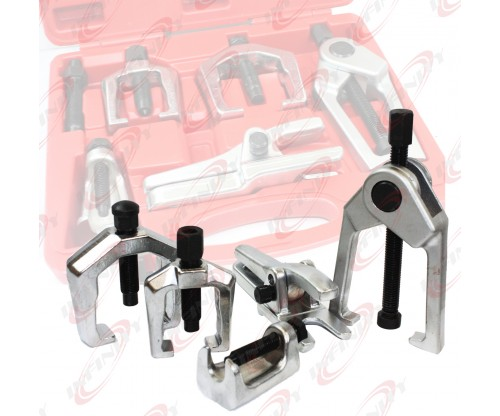 5PC Front End Service Tool Set Separate Pitman Arm Tie Rod End Puller Ball Joint