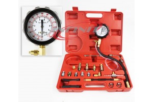 Fuel Pressure Injection Tester Oil Combustion Spraying Meter Guage Kit