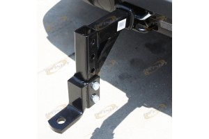 "HD 10"" Adjustable Trailer Drop Hitch Ball Mount for 2"" Receiver Hauling Towing"