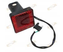 "2"" TRAILER HITCHES HITCH COVER BRAKE LIGHT FOR STANDARD"