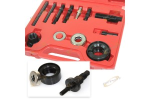12PC POWER STEERING ALTERNATOR PULLEY PULLER / INSTALLER KITS GM CHYRYSLER FORD