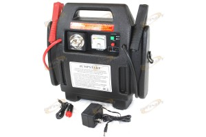 CARS BATTERY BOOSTER JUMP STARTER JUMPSTARTER w/ 260PSI Air Compressor + Light