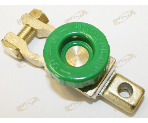 Auto Battery Terminal Disconnect Switch Link Brass Universal Fit All Batteries