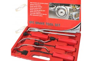 8pc Brake Drum Pliers Brake Spring Installer Removal Retaining Adjust Spoons