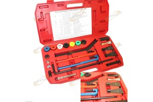21PC Car Full Coverage Service A/C Oil Heater Fuel Hose Line Disconnect Tool Set