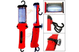 2 PCS Two Mode Cordless 78 LED BRIGHT DROP INSPECTION LIGHT w/Chargers
