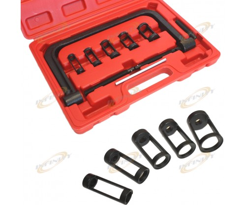 5 Size Valve Spring Compressor Removal Tool Kit for Autor & Motorcycle