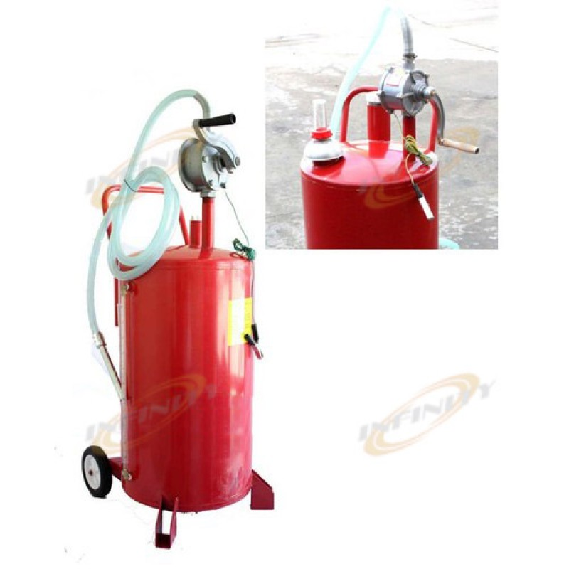 25 Gallon Bidirectional Gas Caddy Oil Gasoline Diesel