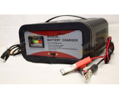 6V 12V Volt 2AMP & 6AMP Dual Battery Charger