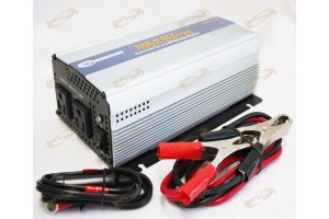 600 Watt DC to AC POWER INVERTER CONVERT 12V to 110V 600W 1200W Surge