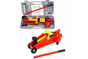 2 TON FLOOR JACK LIFT WITH SWIVEL WHEELS & BLOW CASE