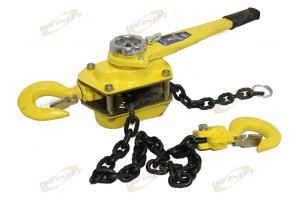 6 TON 5 FT RATCHETING LEVER BLOCK CHAIN HOIST COME ALONG PULLER PULLEY